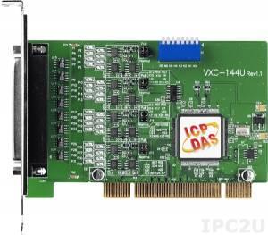 VXC-144U Universal PCI адаптер 4xRS-422/485 115.2кбод