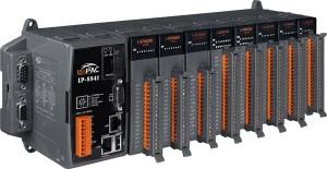 LP-8841-FDA-LP ISaGRAF 6 PC-совместимый промышленный контроллер Intel PXA270 520МГц, 128Mб SDRAM, 32Мб/48Mб Flash, 2xRS-232, 1xRS-485, 1xRS-232/485, 2xEthernet, 8 слотов расширения, Linux 2.6.19, ISaGRAF 6 (исполнительная и инструментальная системы)