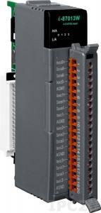 I-87013W Высокопрофильный 4-канальный модуль аналогового ввода сигнала с термосопротивления