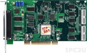 PCI-1002HU Многофункциональный адаптер Universal PCI, 32SE/16D каналов АЦП, 16DI, 16DO, таймер, разъем CA-4002x1