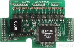X703 Модуль ввода сигналов шифратора (3 оси) для I-7188XB/XG/EX/EG
