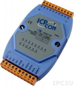 I-7041D Модуль ввода, 14 каналов дискретного ввода, c изоляцией до 3750 В и индикацией