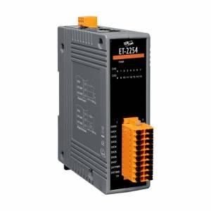 ET-2254 Модуль ввода-вывода, 16 программируемых каналов дискретного ввода и вывода, DO до 100 мА