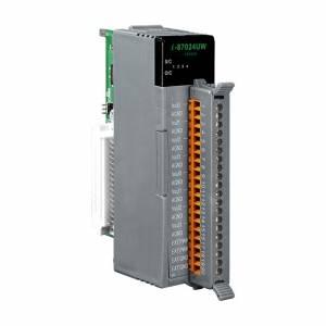 I-87024UW Высокопрофильный модуль вывода, 4 канала аналогового вывода, 16-бит, последовательная шина