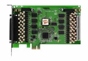 PEX-P64-24V PCI Express x 1 адаптер 64DI с гальванической изоляцией, переходник CA-4037x1, разъем CA-4002x2