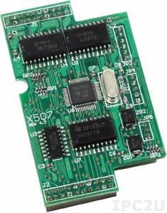 X507 Модуль 1xRS-422/485, 4 DI (0В...1В/3.5В...30В), 4 DO (100 мА/ 30В макс.), для I-7188XB/EX