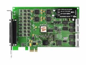 PEX-DA16 PCI Express адаптер 16 каналов дискретного ввода, 16 каналов дискретного вывода, 16 каналов аналогового вывода, счетчик/таймер