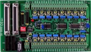DB-889D Мультиплексор 16 аналоговых каналов, датчик компенсации температуры холодного спая