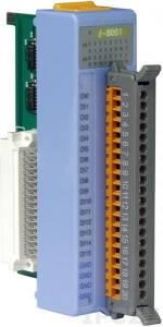 I-8051 Низкопрофильный модуль ввода, 16 каналов дискретного ввода, сухой контакт, без с изоляции, параллельная шина