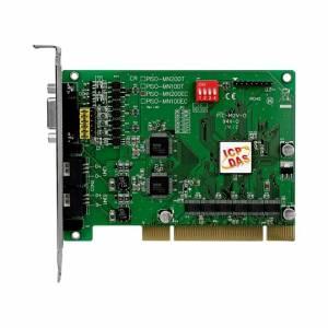 PISO-MN200T PCI адаптер контроля движения, 2 канала Motionnet Master, 5-pin клеммная колодка