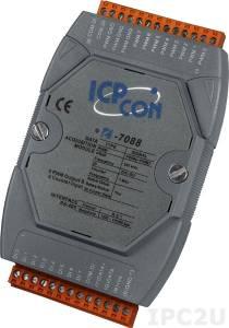I-7088 Модуль ввода - вывода, 8 каналов высокоскоростного счетчика/частотомера / 8 каналов ШИМ, ТТЛ