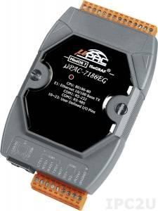 uPAC-7186EG PC-совместимый промышленный контроллер 80МГц, 512кб Flash, 640кб SRAM, 2xRS232/485, Ethernet, MiniOS7, IsaGRAF