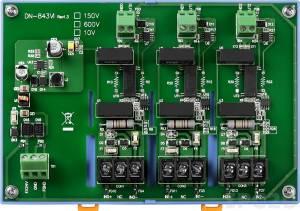DN-843VI-600V Делитель мощности с изоляцией, 3 канала, вход 600 В, выход 10 В