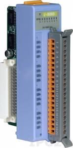 I-8066 Низкопрофильный модуль вывода, 8 каналов вывода с твердотельного реле, DC, с изоляцией до 1500В, параллельная шина