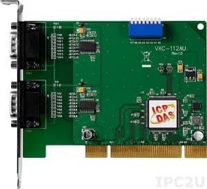 VXC-112AU Universal PCI адаптер 2xRS-232 115.2кбод