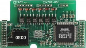 X702 Модуль ввода сигналов шифратора (2 оси) для I-7188XB/XG/EX/EG