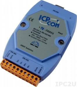 I-7520A Конвертер RS-232 в RS-422/485 с автоматическим контролем за направлением передачи данных для RS-485, изоляция на стороне RS-232