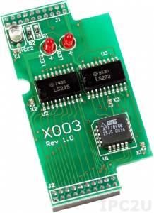 X003 Модуль тестирования для I-7188XA/XC, 64 x 32 мм