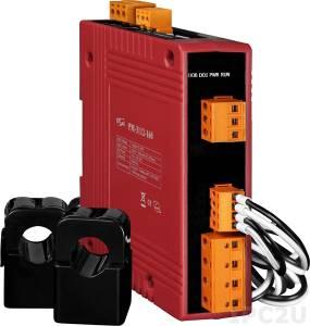 PM-3112-160-MTCP 2-канальный, 1-фазный компактный измеритель напряжения и тока, CT:2pcs, кабель 16мм (0-100A), до 300 В, 50/60Гц, Modbus TCP