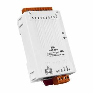 tPET-PD6 Модуль Ethernet, 6 каналов дискретного ввода сухой контакт, PoE