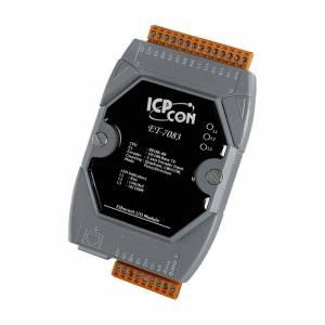 ET-7083 Модуль ввода, 3 канала ввода со счетчика/энкодера, 3 оси, 32-бит