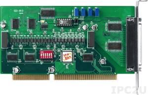 ISO-813 Адаптер ISA, 32SE каналов АЦП с изоляцией