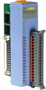 I-8052 Низкопрофильный модуль ввода, 8 каналов дискретного ввода, контакт с внешним питанием, с изоляцией до 5000В, параллельная шина