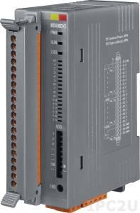 FR-2054T Модуль ввода-вывода, 8-каналов изолированного дискретного ввода, 8-каналов изолированного дискретного вывода, FRnet