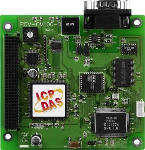 PCM-CM100-D PCI-104 1-портовый адаптер интерфейса CAN с изоляцией, программируемы, 5-pin разъем D-sub