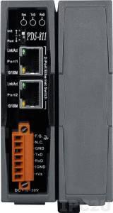 PDS-811 Программируемый Преобразователь последовательных интерфейсов, 2 порта Ethernet, 1 слот расширения на 4 порта последовательного интерфейса, RoHS