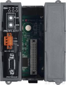 PROFI-8255 Корзина расширения для модулей I-8K, I-87K, 2 слота расширения, протокол PROFIBUS DP