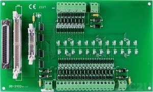DB-24OD Выносная плата 24 дискретных выходов DC с изоляцией, совместима с Opto-22