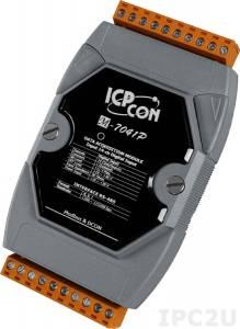 M-7041P Модуль ввода, 14 каналов дискретного ввода, c изоляцией до 3750 В, Modbus RTU