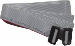 CA-2020 Плоский кабель с разъемами IDC-20, 2 м, ПВХ, 30В