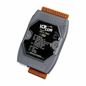 PET-7002 Модуль ввода - вывода, 3 канала аналогового ввода / 6 каналов дискретного ввода, мокрый контакт / 3 канала дискретного вывода, реле тип А, PoE