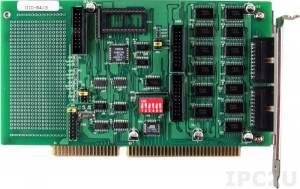 DIO-64/3 ISA адаптер 32DI, 32DO TTL, 3-канальный счетчик/таймер