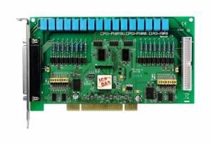 PCI-P16R16U Universal PCI адаптер дискретного ввода-вывода с гальванической изоляцией, переходник CA-4037x1, разъем CA-4002x2