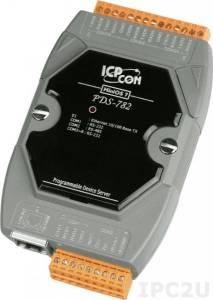 PDS-782 Программируемый Преобразователь последовательных интерфейсов, 7xRS-232, 1xRS-485