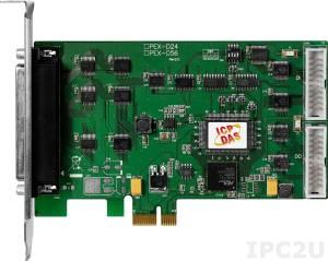 PEX-D56 PCI Express адаптер 56 канала дискретного ввода-вывода TTL