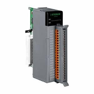 I-87028UW Высокопрофильный модуль вывода, 8 каналов аналогового вывода, 16-бит, с определением обрыва линии, последовательная шина