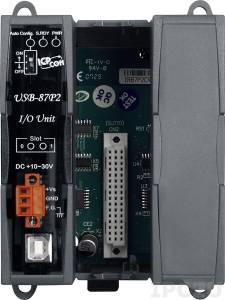 USB-87P2 Корзина расширения для модулей I-87K, 2 слота расширения, интерфейс USB , протокол DCON