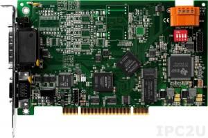 PISO-PS600 PCI адаптер шестикоординатного управления сервоприводом и шаговыми двигателями