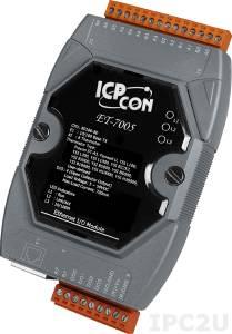 ET-7005 Модуль ввода-вывода, 8 каналов ввода сигнала с термистора / 4 каналов дискретного вывода
