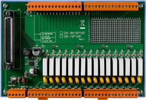 DN-8K16P16R Плата реле, 16 дискретных входов, 16 релейных выходов(250Vac/30Vdc@5A)