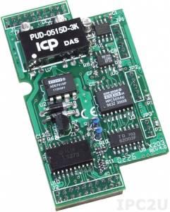X203 Модуль 2-канального аналогового ввода (0...20мА, +/-15В), 2-канального дискретного ввода (до 30В), 6-канального дискретного вывода (до 30В/100мА) для I-7188XB/XG/EX/EG