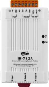 IR-712A-5 ИК-модуль удаленного управления c 2 каналами, 224 команды, кабель 2xCA-IR-SH2251-5 с 1 передатчиком и 1xCA-0910 для настройки модуля, дальность около 13 м (RoHS)