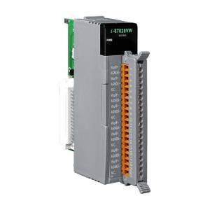I-87028VW Высокопрофильный модуль вывода, 8 каналов аналогового вывода, 12-бит, 0...+10В постоянного тока