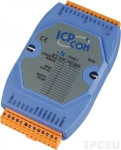 I-7051 Модуль ввода, 16 каналов дискретного ввода, c изоляцией до 3750 В