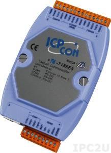 I-7188E8 Программируемый Преобразователь последовательных интерфейсов, 7xRS-232, 1xRS-485