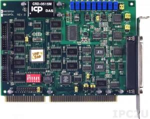 A-823PGH Многофункциональный адаптер ISA, 16SE/8D каналов АЦП, 2 канала ЦАП, 16DI, 16DO, таймер